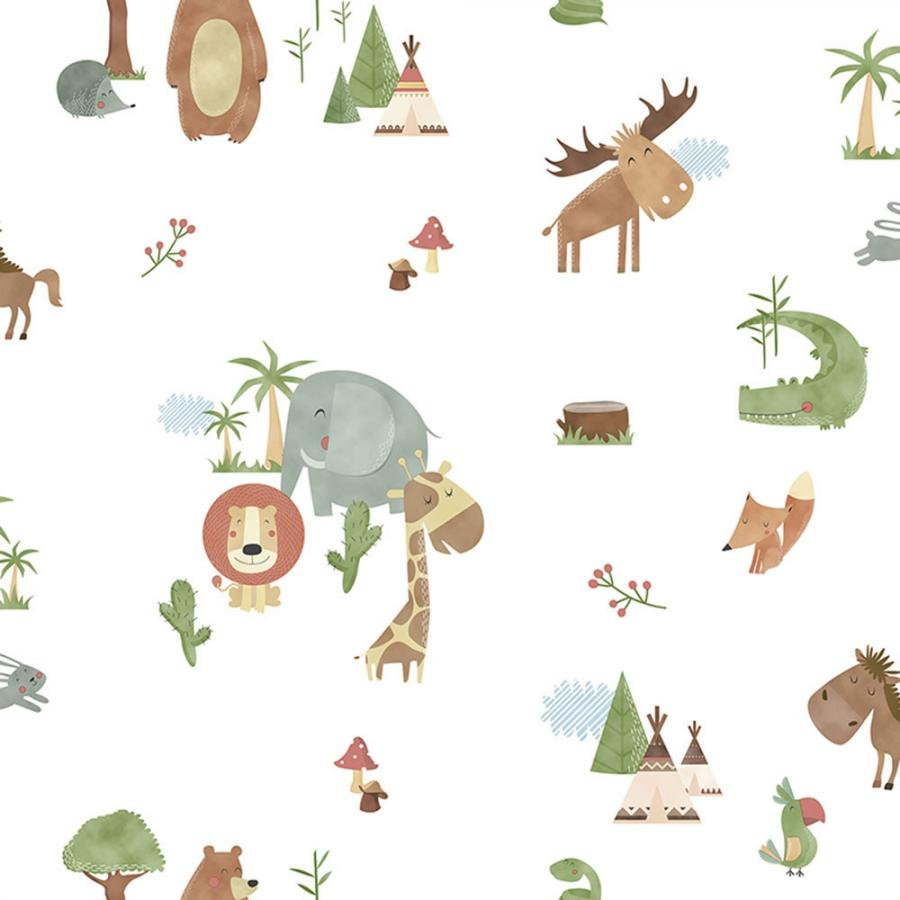 Vlies Kindertapete - Children's Wallpaper 130-2, Sambori, ICH Wallcoverings