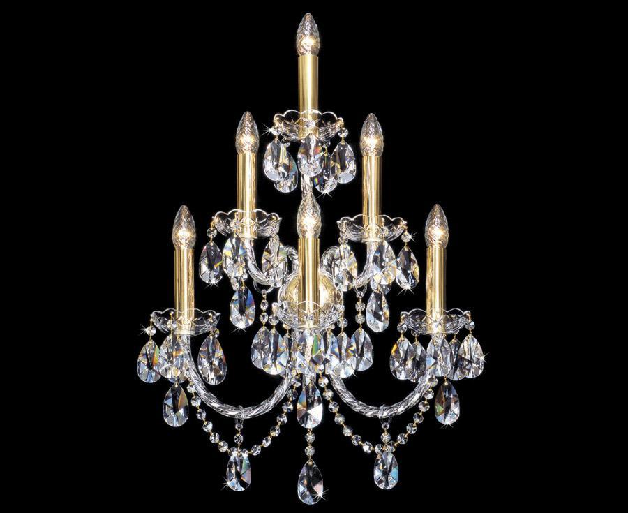 Kronleuchter Mit Wandlampen ~ Kronleuchter crystal lighting kristall lampen cryslal lamps