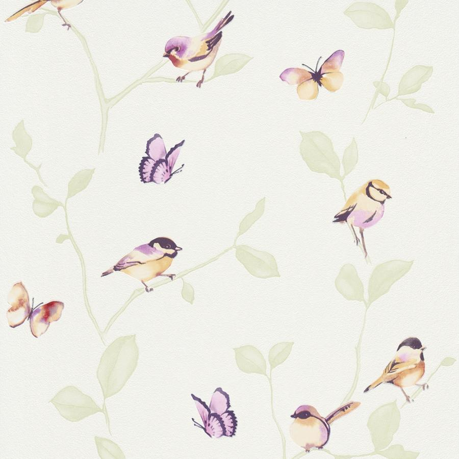 Vlies Kindertapete - Children's Wallpaper 6498-04, My Garden, Erismann