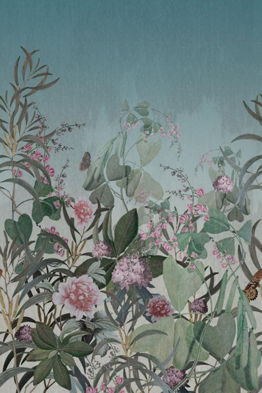 Tapetenpaneel - Wallpapers Panel OND22101, 200 x 300 cm, Cinder, Onirique, Decoprint