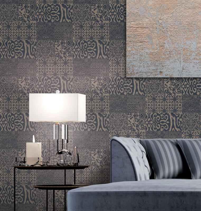 Luxus Vliestapete - Luxury Vlies Wallpaper Mozaika, VD219151, Verde 2, Design ID, Afrodita