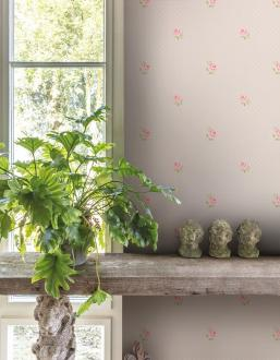 Vlies Kindertapete - Children's Wallpaper LF2103, Little Florals, Grandeco