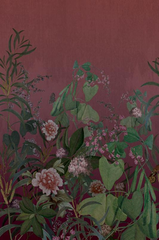 Tapetenpaneel - Wallpapers Panel OND22102, 200 x 300 cm, Cinder, Onirique, Decoprint