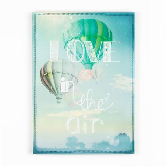 Frameless Malerei - Druck auf Leinwand, Love Is In The Air 41-703, Wall Art, Graham Brown