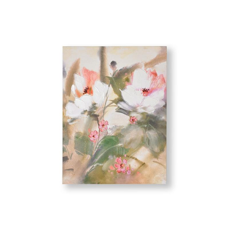 Frameless Malerei - Druck auf Leinwand Tropical Blooms 104014, Wall Art, Graham Brown