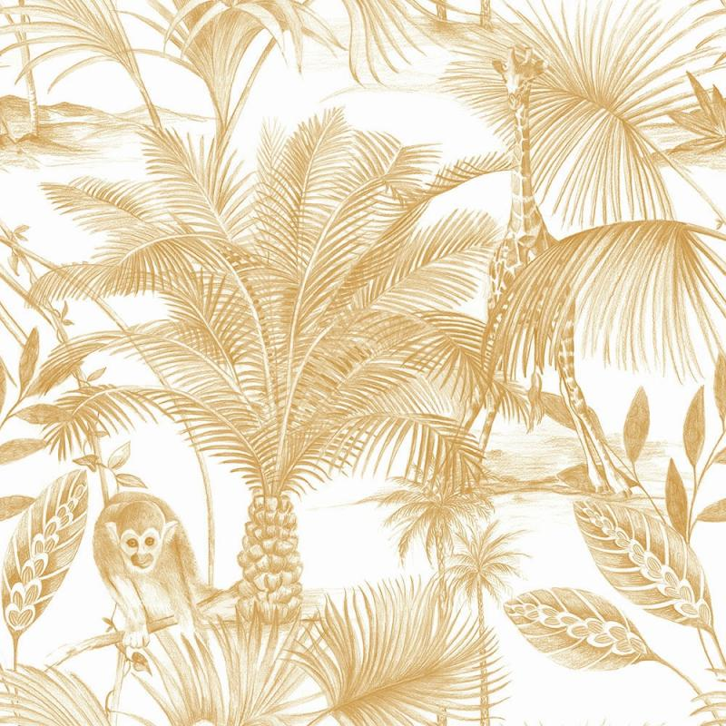 Luxus Vliestapete - Luxury Vlies Wallpaper Exotic JF3503, Botanica