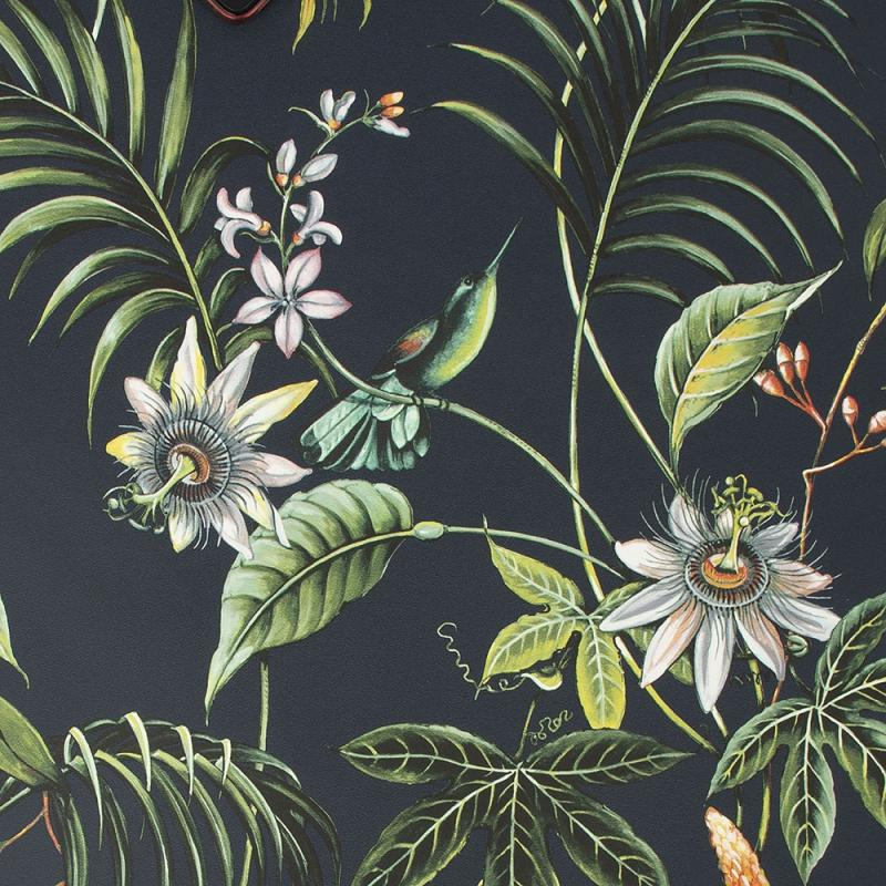 Luxus Vliestapete - Luxury Vlies Wallpaper 106976, Adilah Dark, Paradise, Graham & Brown