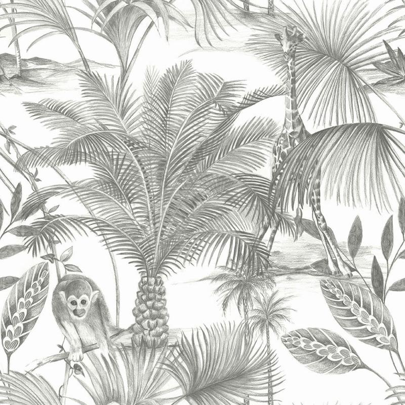 Luxus Vliestapete - Luxury Vlies Wallpaper Exotic JF3501, Botanica