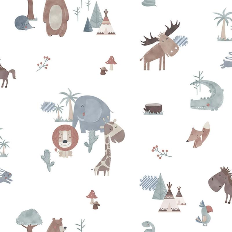 Vlies Kindertapete - Children's Wallpaper 130-3, Sambori, ICH Wallcoverings