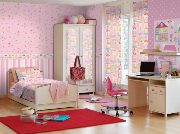 Kindertapete - Children's Wallpaper 565-4, Coconet, Ichwallcoverings