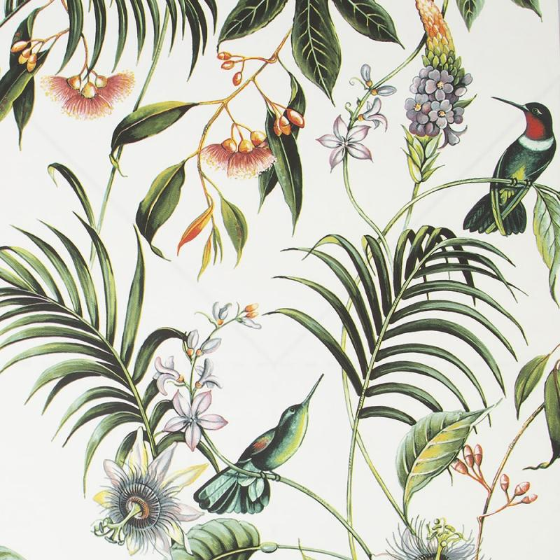 Luxus Vliestapete - Luxury Vlies Wallpaper 106975, Adilah White, Paradise, Graham & Brown