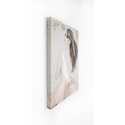 Frameless Malerei - Druck auf Leinwand Elizabeth 41-707, Wall Art, Graham Brown