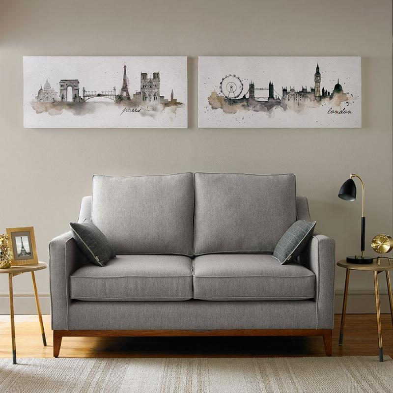 Frameless Malerei - Druck auf Leinwand - 42-239, London Water. , Wall Art, Graham Brown