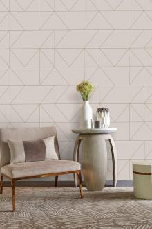 Luxus Vliestapete - Luxury Vlies Wallpaper 103005, Kelly Hoppen 3, Graham & Brown