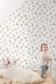 Vlies Kindertapete - Children's Wallpaper LL3104, Jack´N Rose by Woodwork, Grandeco