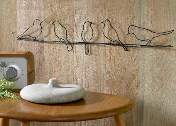 Metall Dekoration - Metal decoration 41-221, Birds On A Wire , Wall Art, Graham Brown