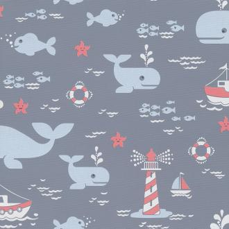 Vlies Kindertapete - Children's Wallpaper LL3207, Jack´N Rose by Woodwork, Grandeco