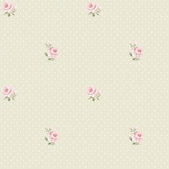 Vlies Kindertapete - Children's Wallpaper LF2101, Little Florals, Grandeco
