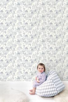 Vlies Kindertapete - Children's Wallpaper LL-05-07-4, Jack´N Rose by Woodwork, Grandeco
