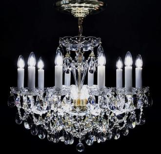 LED Kristall Kronleuchter - LED Crystal chandelier EX4050 10-12LED09-669SW