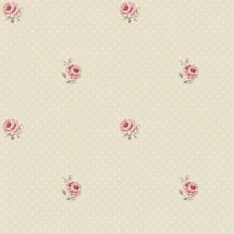 Vlies Kindertapete - Children's Wallpaper LF2102, Little Florals, Grandeco